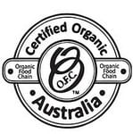 organic certified by food chain australia
