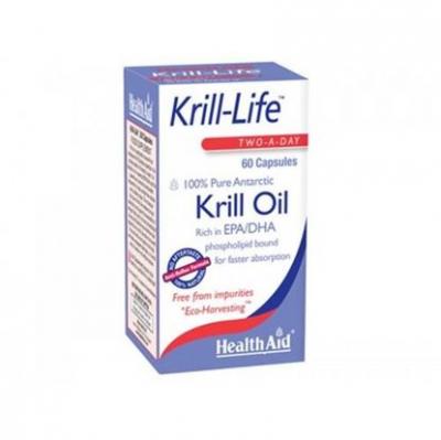 Health Aid Kril-Life 100% Pure Antarctic 60caps