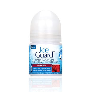 Optima Ice Guard Natural Crystal Deo Rose Otto 50ml