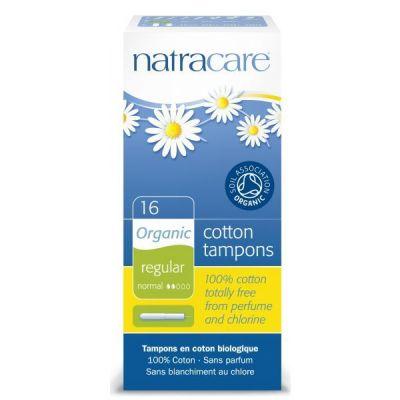 Natracare Ταμπόν Με Εφαρμοστή Για Κανονική Ροή (16τμχ)