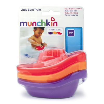 Munchkin Little Boat Train Παιχνίδι Μπάνιου 3τμχ