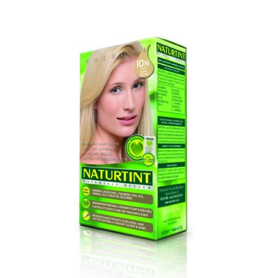 Naturtint Φυτική βαφή μαλλιών - 10Ν Ξανθό πλατινέ 1 Τεμ