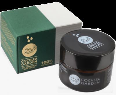 Cochlea Garden Kρέμα Ημέρας (Προσώπου Ματιών) Για Λιπαρές - Μικτές Επιδερμίδες 30ml