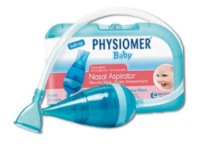 Physiomer Baby Ρινικός Αποφρακτήρας + 5 Προστατευτικά Φίλτρα