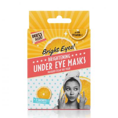 Dirty Works Bright Eyes! Brightening Under Eyes Masks 3 sachets