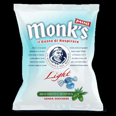 Monk's Mini Light Mint Eucalyptus Καραμέλες 70g
