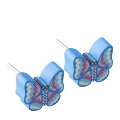 Inoplus Υποαλλεργικό σκουλαρίκι Πεταλούδα 1τμχ
