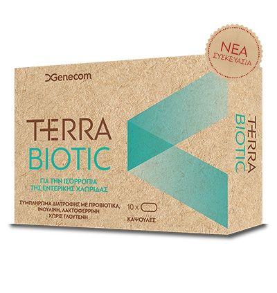 Genecom Terra Biotic 10 κάψουλες