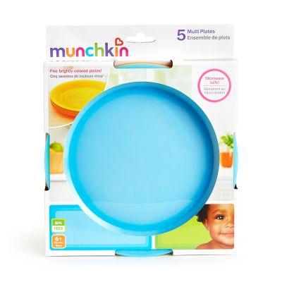 Munchkin Πολύχρωμα Πιατάκια 5τμχ