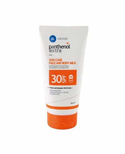 Medisei Panthenol Extra Sun Care Face & Body Milk SPF30 150ml