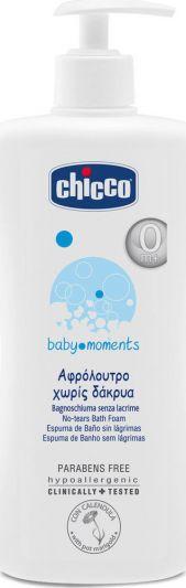 Chicco Baby Moments Αφρόλουτρο Χωρίς Δάκρυα 500ml