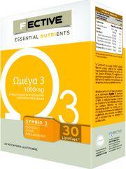 F|ECTIVE Omega 3 1000mg 30 LipidCaps™