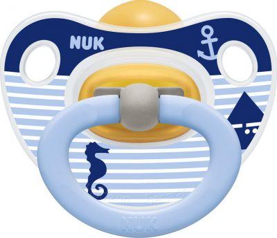 Nuk Classic Happy Kids Καουτσούκ-Μπλε Ιππόκαμπος