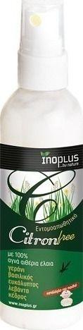 Inoplus Citron Free εντομοαπωθητικό 100ml