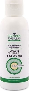 Doctor's Formulas Vitamin D3 2500IU & K2 200mcg 2500iu 120ml