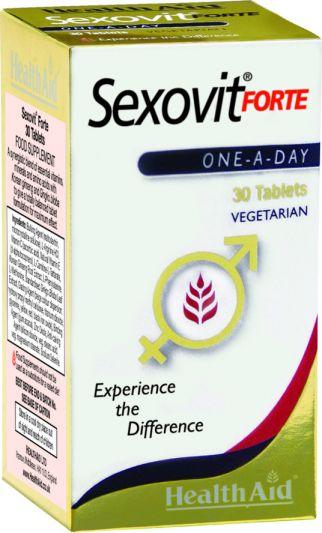 Health Aid Sexovit Forte 30 ταμπλέτες