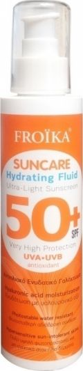 Froika Suncare Hydrating Fluid SPF50+ Αντιηλιακό Ενυδατικό Γαλάκτωμα 150ml