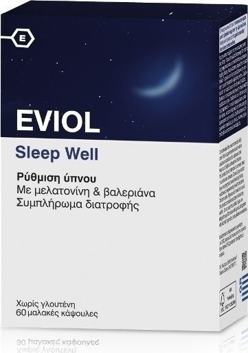 EVIOL Sleep Well 60 softgels