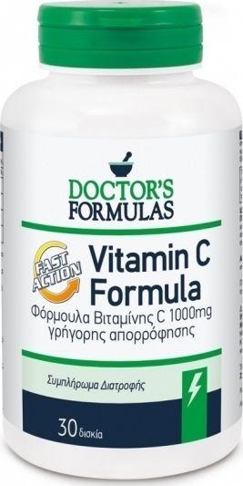 Doctor's Formula Vit C Formula Fast Action 30tabs