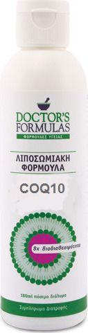 Doctor's Formulas Λιποσωμιακή Φόρμουλα Coq10 180ml