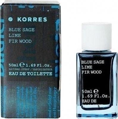 Korres Eau de Toilette Blue Sage Lime & Fir Wood 50ml