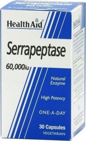 Health Aid Serrapeptase 60000iu 30 κάψουλες
