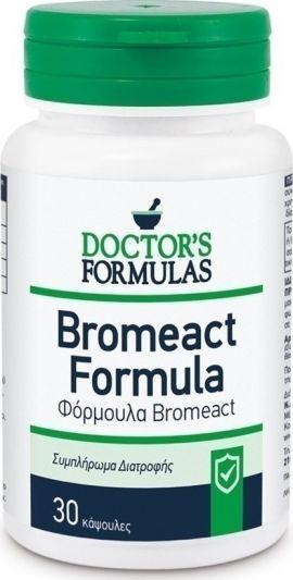 Doctor's Formula Bromeact 30 Κάψουλες
