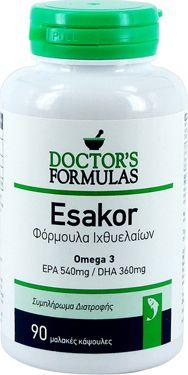 Doctor's Formula Esakor 90 Μαλακές Κάψουλες