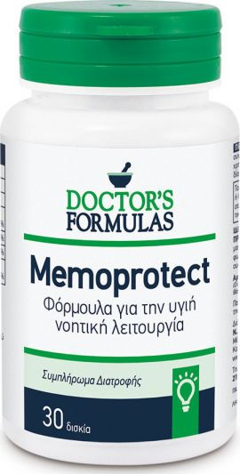 Doctor's Formulas Memoprotect 30 Δισκία