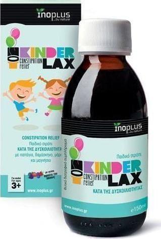 Inoplus Kinder Lax Παιδικό σιρόπι κατά της δυσκοιλιότητας 150ml