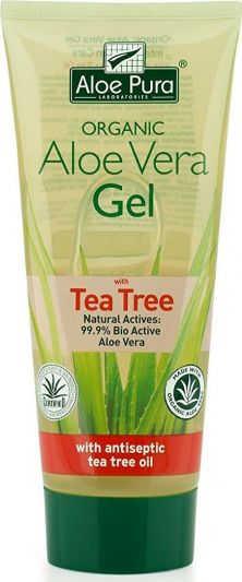Optima Aloe Vera Gel 99.9% With Tea Tree 200ml