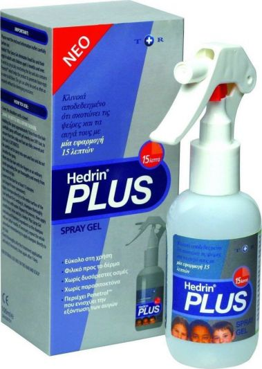 Hedrin Plus Spray Gel Για Ψείρες 100ml