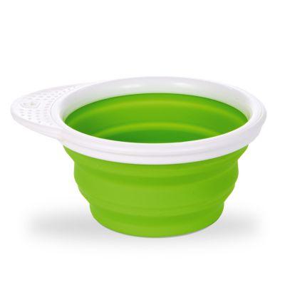Munchkin Go Bowl Αναδιπλούμενο Μπολ Σιλικόνης 6m+ πράσινο