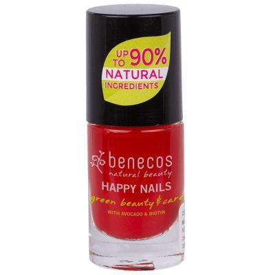 Benecos Βερνίκι Νυχιών Vintage Red 5ml