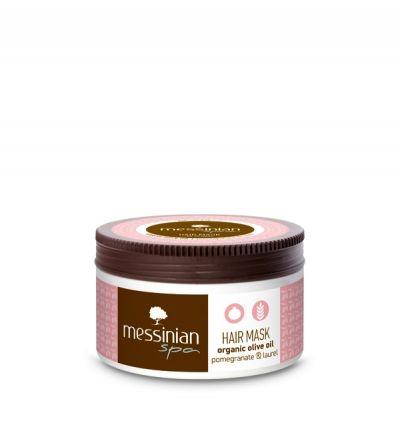 Messinian Spa Μάσκα Μαλλιών Ρόδι & Δαφνέλαιο 250ml
