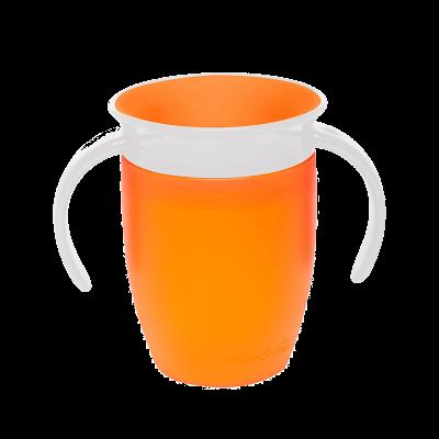 Munchkin Κύπελλο Miracle 360 Trainer Cup 6m+ Πορτοκαλί 207ml