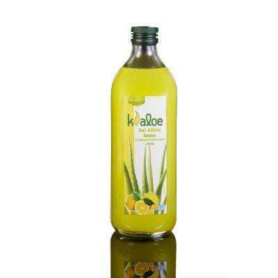 KALOE - 100% Φυσικός Χυμός Κρητικής Αλόης Με λεμόνι σε τζελ 1lt.