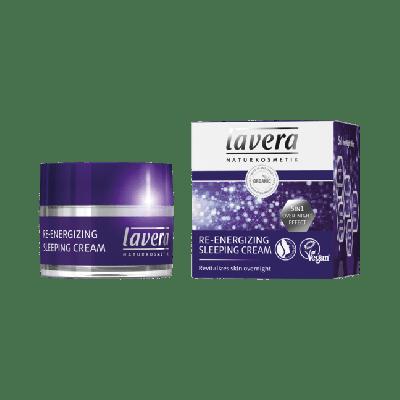Lavera Facial Care Re-Energizing Sleeping Cream 50ml
