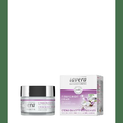 Lavera Facial Care Συσφιχτική Κρέμα Νυκτός Με Έλαιο Karanja Και Βιολογικό Άσπρο Τσάι 50ml