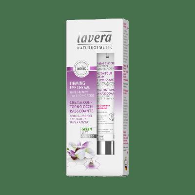 Lavera Facial Care Συσφιχτική Κρέμα Ματιών Με Έλαιο Karanja Και Βιολογικό Άσπρο Τσάι 15ml