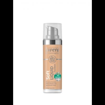 Lavera Trend Sensitiv Φυσικό Υγρό Make-Up No 03 -Honey Sand 03- 30ml