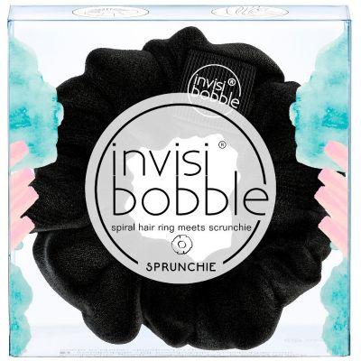 Invisibobble® Sprunchie Spiral Hair Ring Λαστιχάκι Μαλλιών Μαύρο 1τμχ