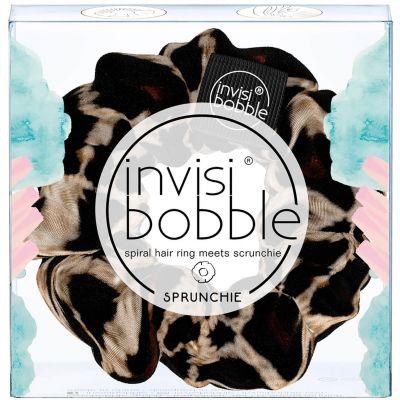 Invisibobble® Sprunchie Spiral Hair Ring Λαστιχάκι Μαλλιών Λεοπάρ 1τμχ