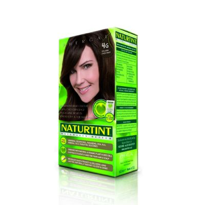 Naturtint Φυτική βαφή μαλλιών - 4G Καστανό χρυσαφί 1 Τεμ