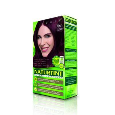 Naturtint Φυτική βαφή μαλλιών - 4M Καστανό μαόνι 1 Τεμ