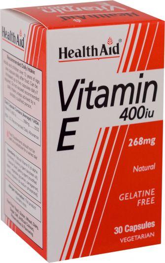 Health Aid Vitamin E 400IU 30 κάψουλες