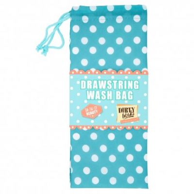 Dirty Works On the Go Beauty - Drawstring Wash Bag