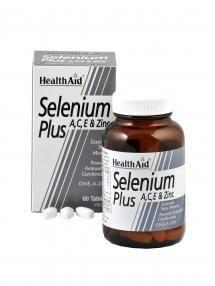 Health Aid Selenium Plus 200μg A,C,E & Zinc 60 tabletes