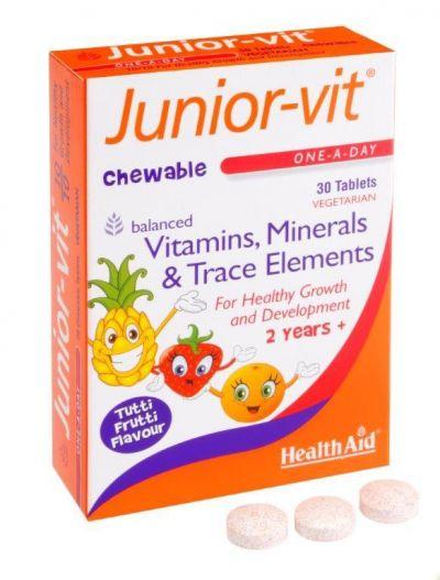 Health Aid Junior-vit 30tabs