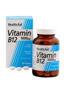 Health Aid Vitamin B-12 1000μg 100 tabletes